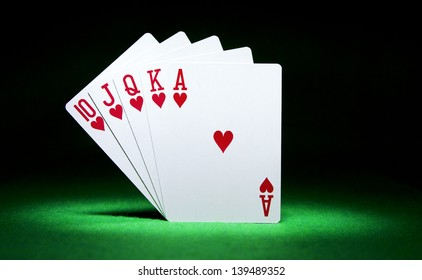 what beats a straight flush in poker