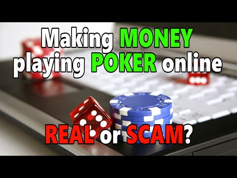 can you play poker online for money